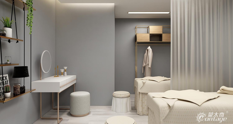 帕梅拉肌理纯色M027-2人美容室 (2)
