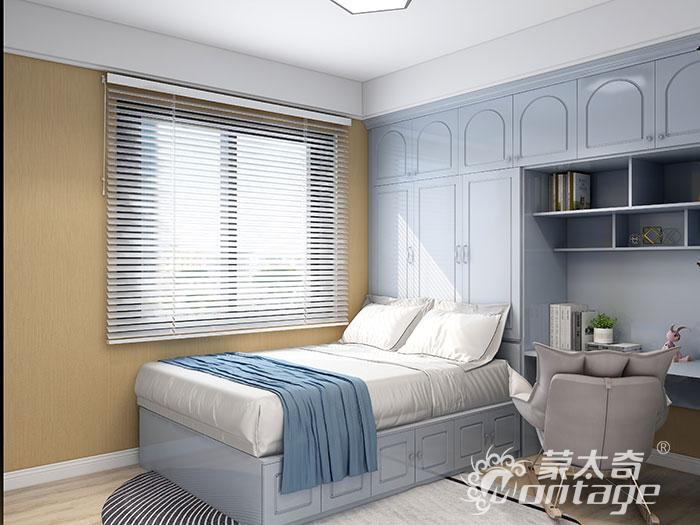 蒙太奇 | 这么美的卧室,我可以每天睡到自然醒