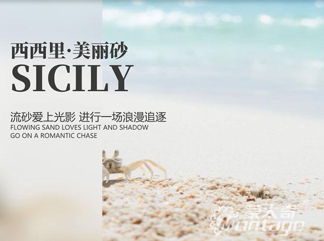 「新品」蒙太奇艺术涂料Sicily西西里·美丽砂:爱上光影