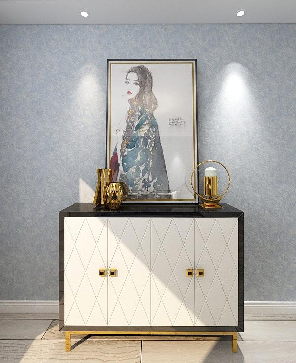 艺术涂料卧室效果图