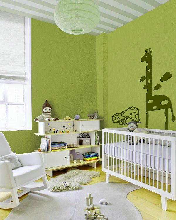 儿童房背景墙